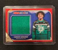 Carsen Edwards 2019-20 NBA Hoops Holiday Winter #RSCEW Sweater RC FREE SHIP