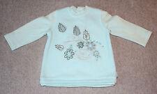 NEU Pampolina Fleece Pulli Größe 68 hellblau kuschelig warm