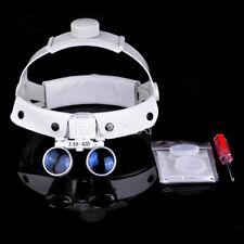 3.5X Dental Headband Surgical Medical Binocular Loupes Magnifier Optical Italy