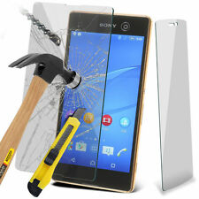 100% Tough Tempered Glass Film Screen Protector for Sony Xperia M5