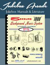 "Seeburg Background Music Systems ""1000� Accessory Equipment Service Manual Parts"