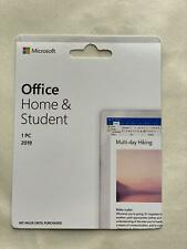 Microsoft Office Home and Student 2019 | Pc Only | 1 User