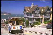 Letrero De Metal 512026 Cable Car ascendente Hyde Street San Francisco California A4 12