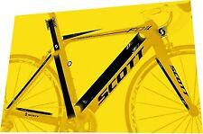SCOTT Foil 30 2013 Frame Sticker / Decal Set