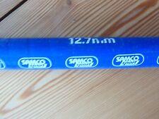 1 Meter Silikon Kühlwasserschlauch 12,7mm/13mm Samco Sport blau neu