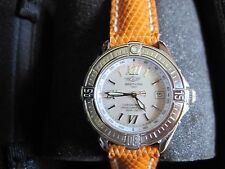 LADIES BREITLING B CLASS WATCH MODEL A67365 MOTHER OF PEARL DIAL