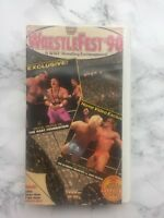 Coliseum Video WrestleFest '90 VHS (1990) A WWF Wrestling Extravaganza!