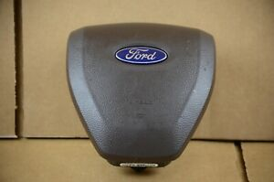 2017-2021 Ford F250 F350 Driver Wheel Airbag Non-Adaptive Steering Brown OEM