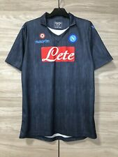 Napoli 2014-2015 Basic Away Football Soccer Macron Shirt Jersey Maglia Trikot