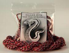 100 Snake Bite Yo-Yo Strings - 100% Polyester Strings- Redbelly Snake
