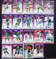 1991-92 Score American Hartford Whalers Team Set of 21 Hockey Cards W/ Traded