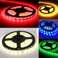Super Bright Waterproof 5M 12V 3528 5050 SMD 300/600 LED Flexible Strip light EL