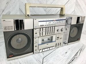 JVC Boombox PC-R11C - RARE Vintage Cassette Radio Stereo Ghettoblaster 1980s