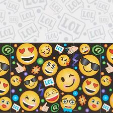Emoji LOL Plastic Tablecover by Amscan 1 Count Birthday Party Supplies New