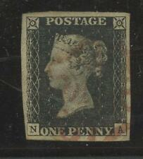 Penny BLACK plaque 1b na vfu+variety.. grandes marges