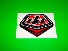 TROY LEE DESIGNS MOTOCROSS ATV QUAD RED & BLACK SPEED EQUIPMENT STICKER DECAL