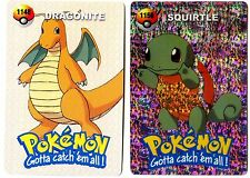 PROMO POKEMON JAPANESE DOUBLE SIDE CARD HOLO N° 1156 1148 SQUIRTLE DRAGONITE