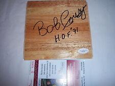Bob Cousy Boston Celtics Basketball NBA Original Autographed Items ... 08c62de0c
