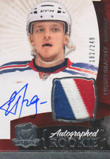 10-11 Evgeny Grachev The Cup Auto Rookie Card RC #160 Sweet Jersey Patch 182/249