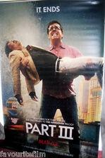 Cinema Banner: HANGOVER PART III, THE 2013 (Ed Helms & Ken Jeong/Stu & Mr Chow)
