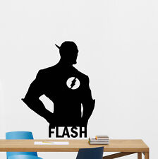 Flash Wall Decal Superhero Vinyl Sticker Kids Comic Book Art Decor Poster 185zzz