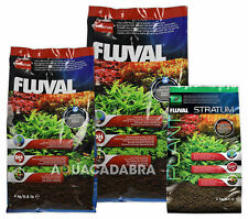 Fluval Plant & Shrimp Stratum Substrate Base Natural Safe Aquarium Fish Tank