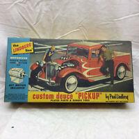 Vintage The Lindberg Line Box ONLY Custom Deuce Pickup & Instructions