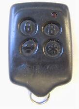 Keyless remote entry keyfob 4 bttn J5523518T1 Black Widow transmitter opener red