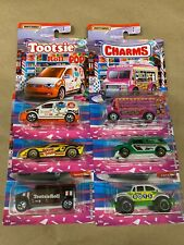 New Matchbox Candy Series ALL 6 Tootsie,Charm,Dots,Sugar Daddy,Junior Mint