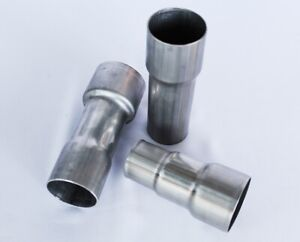 Exhaust Reducer Pipe Adapter 45mm 52mm 57mm 65mm 76mm Connector Standard Joiner