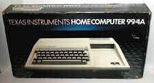 TEXAS INSTRUMENTS TI-99/4A VINTAGE HOME COMPUTER MINT IN BOX COMPLETE WORKING