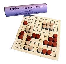 Ludus Latrunculorum/Latrunculi historic Roman board game; great strategy game!