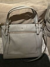 Classic Kate Spade Grey Leather Bag  - Great Condition