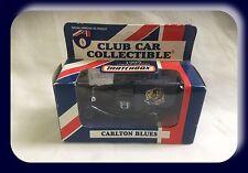 Matchbox AFL Club Car 1995 Ford Model A Carlton Blues