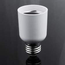 US White Lamp Screw Base Bulb E27 to E40 Adapter Light Holder Socket Converter