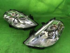 JDM 2012 Nissan TIIDA C11 SC11 Halogen Headlights Lamps Lights Set OEM
