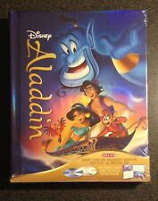 Disney ALADDIN Blu-Ray DVD Digital HD Copy Diamond DigiBook Target 32p StoryBook