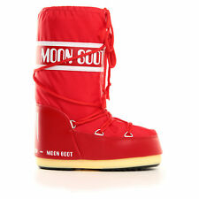 MOON BOOT MOON BOOT NYLON ROSSO DOPOSCI MOON BOOT 140044 003