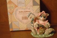 Enesco Calico Kittens - You're My Feathered Friend