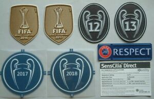 TOPPE REAL MADRID UEFA CHAMPIONS LEAGUE 2017-2019 OFFICIAL SET