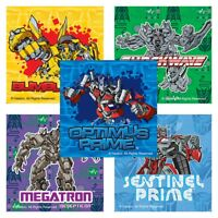 Transformers Stickers x 5 - Optimus Prime Transformers Birthday Party Supplies