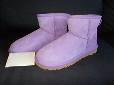 Genuine UGG Australia Classic Mini II Boots UK 6.5 (Women) Lilac BNWT