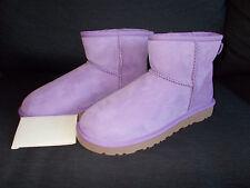 Genuine UGG Australia Classic Mini II Boots UK 7.5 (Women) Lilac BNWT