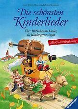 Die schönsten Kinderlieder: Über 100 bekannte Lieder, di... | Buch | Zustand gut