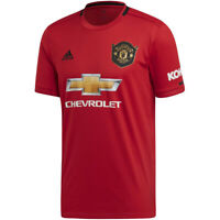 adidas Manchester United Heimtrikot 2019/2020 Home Jersey rot ED7386 Red Devils