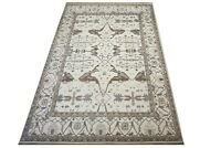 """12X18 Ivory Oushak Hand-Knotted Wool Area Rug Oriental Carpet (12'2"""" x 17'10"""")"""
