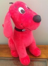 """Clifford The Big Red Dog Plush Stuffed Animal Toy 14"""" Kohl's Cares"""