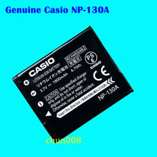 Genuine Casio NP-130A battery for Exilim EX-ZR800 ZR1000 ZR1200 ZR700 H35 H30