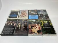 Cassette Tape lot of 8 Tapes Mixed (Van Halen, Beatles, Scorpions, Michael)