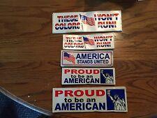 300 Patriotic Window Stickers, Yes I Said 300